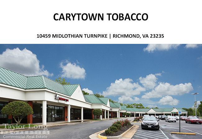 Pocono shopping Center Carytown tobacco